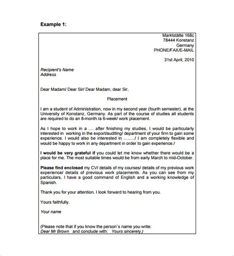 professional business letter email format 8 sle professional email templates to for free