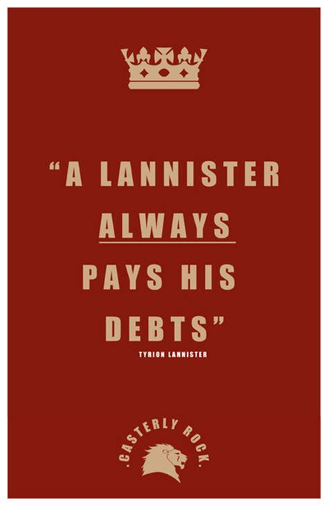 House Lannister Words by Tyrion Lannister Quote By Liquidsouldesign On Deviantart