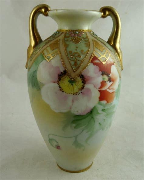Vintage Porcelain Vases by 211 Best Nippon Vases So Beautiful Images On Porcelain Porcelain Vase And Painted