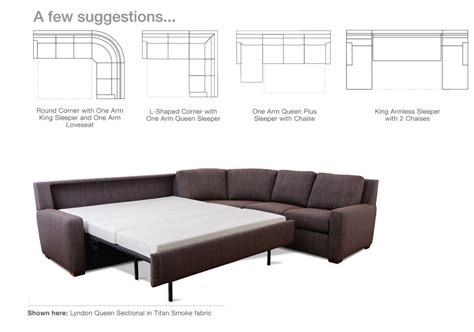 Comfort Sleeper Sectionals Endless Possibilities Scott Sectionals Sofa Beds