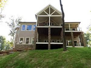 Craftsman Farmhouse craftsman farmhouse house plan 50257 rear elevation