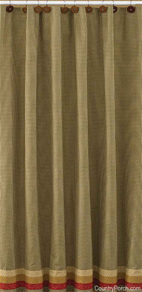 the country porch curtains allspice shower curtain