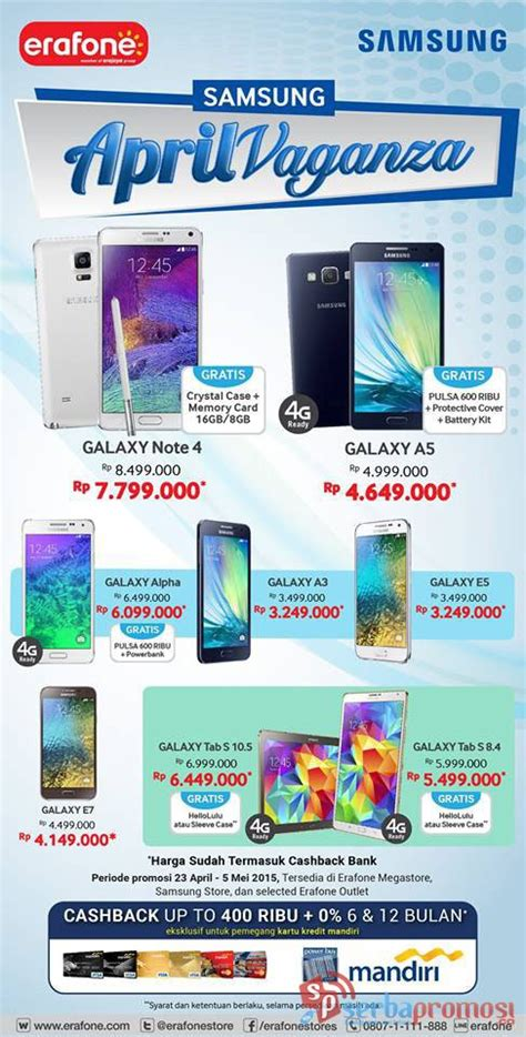 Kompor Gas Vaganza samsung april vaganza pricebook forum