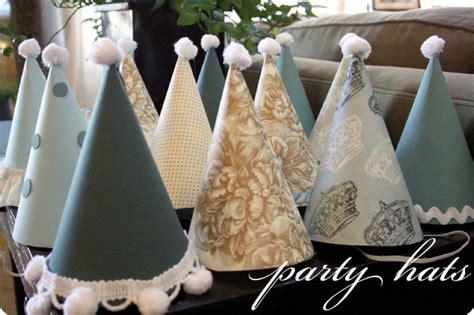 How To Make Paper Cone Hats - hat tutorial jones design company
