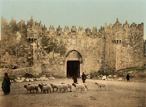 imagenes de jesus en jerusalen file jerusalem damaskustor um 1900 jpg