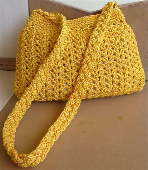 yellow pattern purse crochetkari golden yellow crochet purse