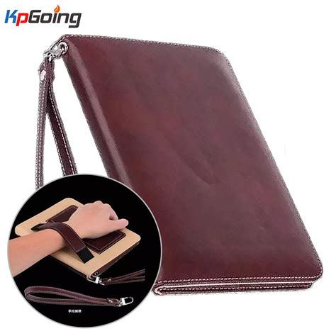 Pro 9 7 Inchi Flip Cover Casing Sarung Fs Marvel Wallet luxury lanyard card business pu leather cover for pro 9 7 handhold for pro 9 7