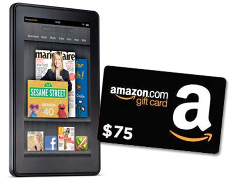kindle fire 75 amazon gift card giveaway two winners frugal novice - Gift Cards For Kindle Fire