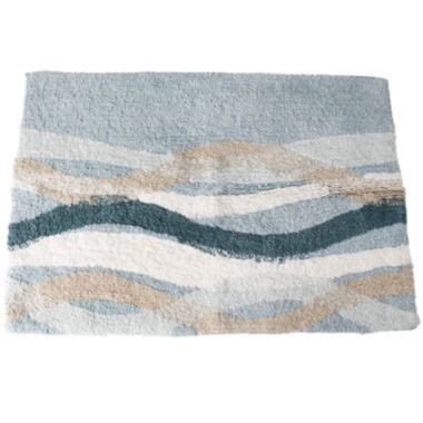 Sketchbook Waves Bath Rug Found At Jcpenney Bedroom Jcpenney Bathroom Rugs