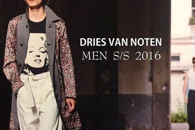 different news dries noten 16ss ドリスヴァンノッテン 2016春夏 新作 リリーススタート mens accesaries dijest