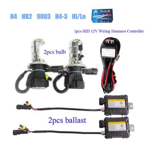 wholesale bi xenon hid slim kit h4 hb2 9003 9004 hb1 9007 hb5 hb3 hi lo