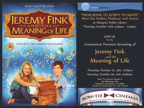 biography book meaning jeremy fink and the meaning of life photos jeremy fink