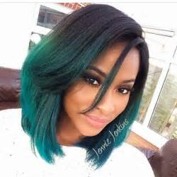 ombre hair color fro american black hair green ombre hair colors ideas