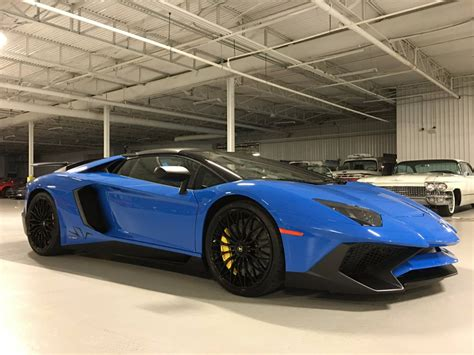 Buy Used Lamborghini Aventador Glistening Lamborghini Aventador Sv Roadster Pops Up On
