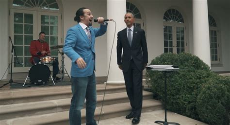 lin manuel miranda white house lin manuel miranda spits a freestyle of obama at the white house hiphopdx