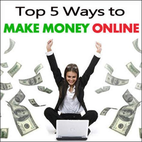 Top 5 Ways To Make Money Online - top 5 ways to make money online without investment pastmasterblogger