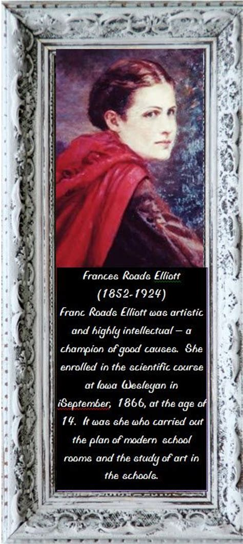 in the story of frances elizabeth roads elliott 1852 1924 books 1000 images about peo founders day on