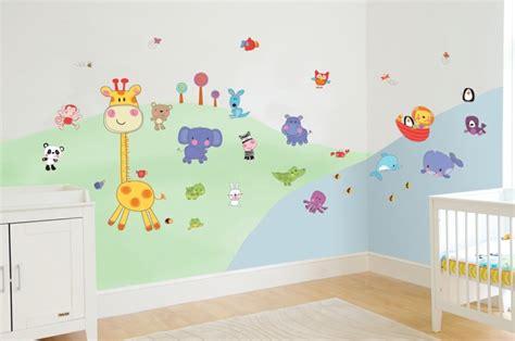 decoration murale chambre bebe d 233 coration murale chambre b 233 b 233 pour la cr 233 ation d une