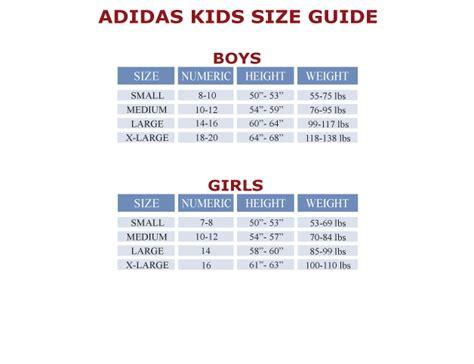 adidas kids size chart adidas youth size off 70 advip2018 com