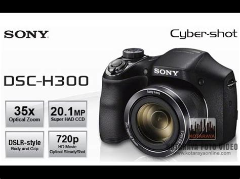sony cyber shot h300 black / sony dsc h300 / Моя новая