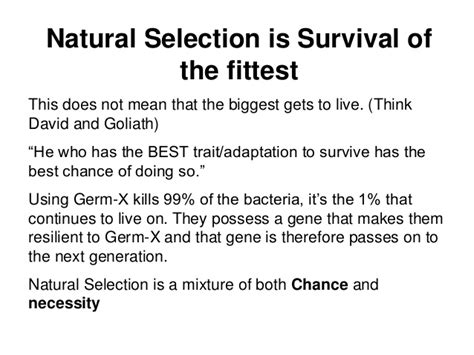 what is natural section natural selection