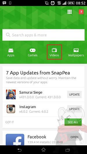 download youtube di android cara download youtube di android dengan snappea