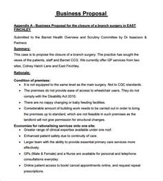 Templates Of Business Proposals sle business 18 documents in pdf word