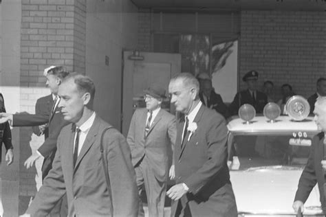 Lyndon  Johnson Leaving Parkland Hospital  Portal
