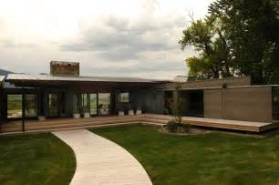 contemporary prefab home montana modern prefab modular