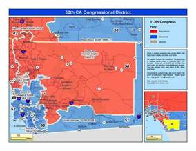 california 49th congressional district map california 50th congressional district duncan d