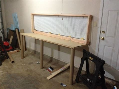 wall mounted folding work bench how to build a wall mounted folding workbench home