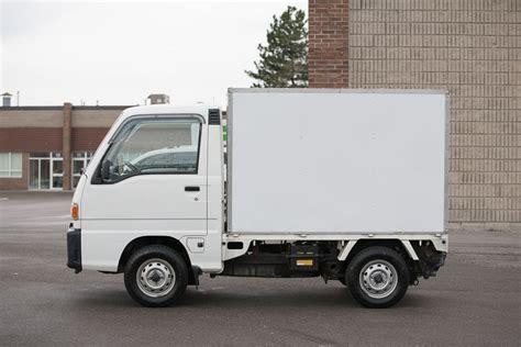 subaru mini trucks 1997 subaru sambar box 4wd mini kei truck right drive