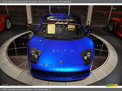 2006 lamborghini murcielago roadster in blue pearl photo no 11564996 gtcarlot
