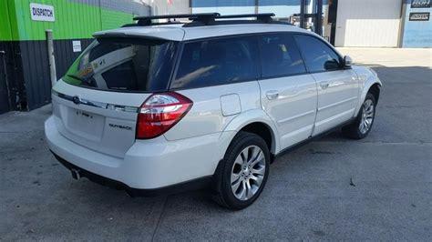 2007 Subaru Outback Station Wagon White 3 0l Automatic