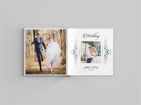 12x12 Wedding Album Template 30 Pages On Behance 8x12 Wedding Album Templates