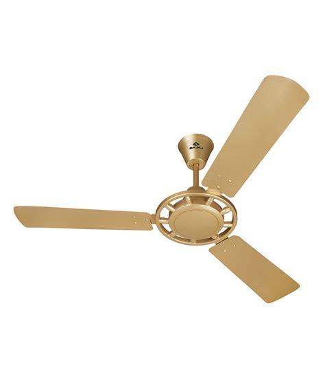 bajaj 48 cruzair ceiling fan sf gold price in india buy