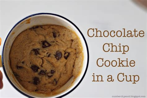 perfect single serving size chocolate chip cookies no 2 pencil