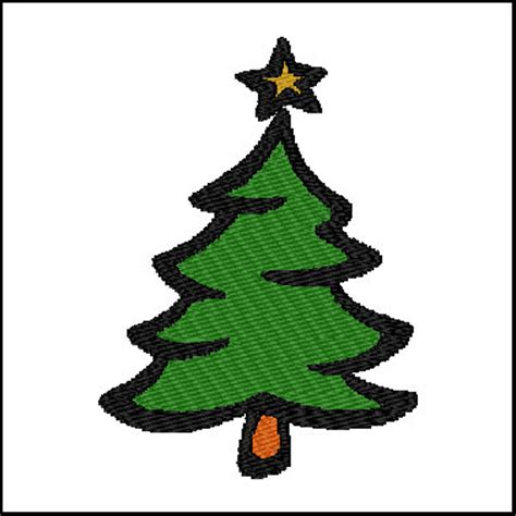 christmas tree pattern in c christmas tree embroidery pattern design hqembroidery