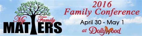 Dollywood Sweepstakes 2016 - improve your life skills family matters conference at dollywood
