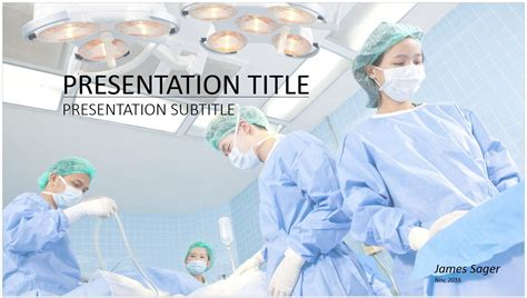 Free Surgery Powerpoint 14904 Sagefox Powerpoint Templates Surgery Ppt Templates Free