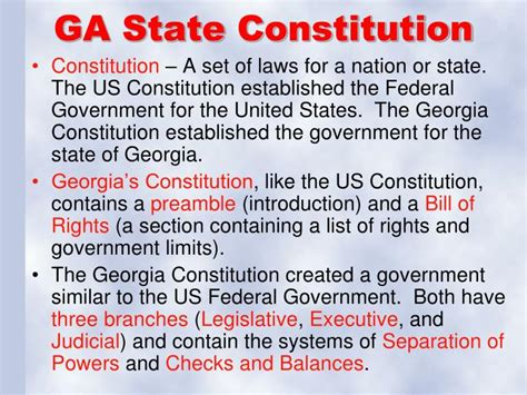 the introductory section of the us constitution ppt unit 8 government powerpoint presentation id 1556635