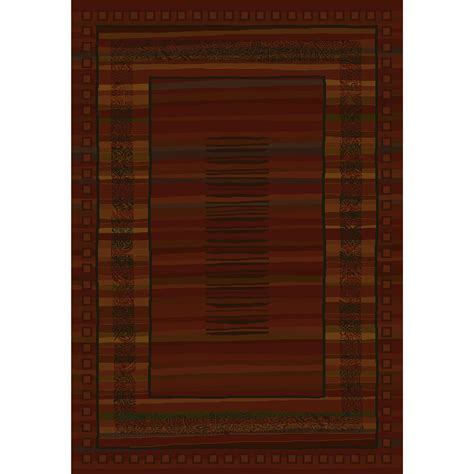 Cabin Area Rugs United Weavers Cabin Retro Area Rug 7 10 Quot X 10 6 Quot 195732 Rugs At Sportsman S Guide