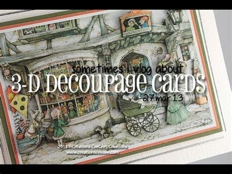 3d Decoupage Tutorial - 17 best images about decoupage tutorials on