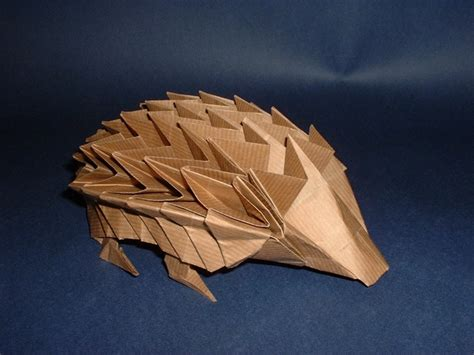 Origami Hedgehog - origami paperfolding for by eric kenneway book review