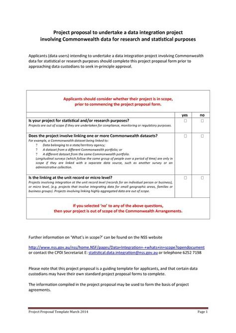 templates for proposals 43 professional project proposal templates template lab