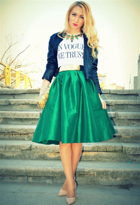 25 trendy midi skirts pretty designs