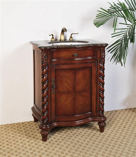 26 inch vanity with sink 26 inch single sink bathroom vanity with chestnut brown