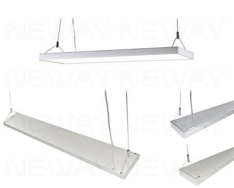 indoor led light bar suspended 4 feet 60w linear panel led light bar 1200mm 60w