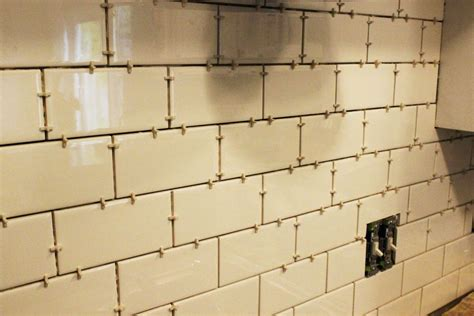 subway tiles how to install a subway tile kitchen backsplash