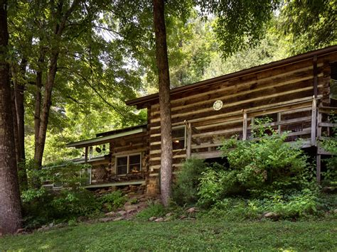 Paint Creek Cabins by Viking Mountain Lodge Authentic Log Cabin On Paint Creek